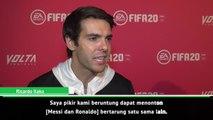 Kaka berharap Messi dan Hazard dapat menciptakan rivalitas