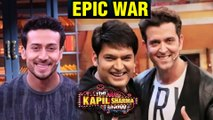 The Kapil Sharma Show   Hrithik Roshan Tiger Shroff FUNNY WAR With Kapil And Krushna