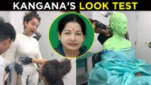 Kangana Ranaut As Jayalalithaa, Thalaivi Look Test | NEVER SEEN Before Makeover| Jayalalithaa Biopic