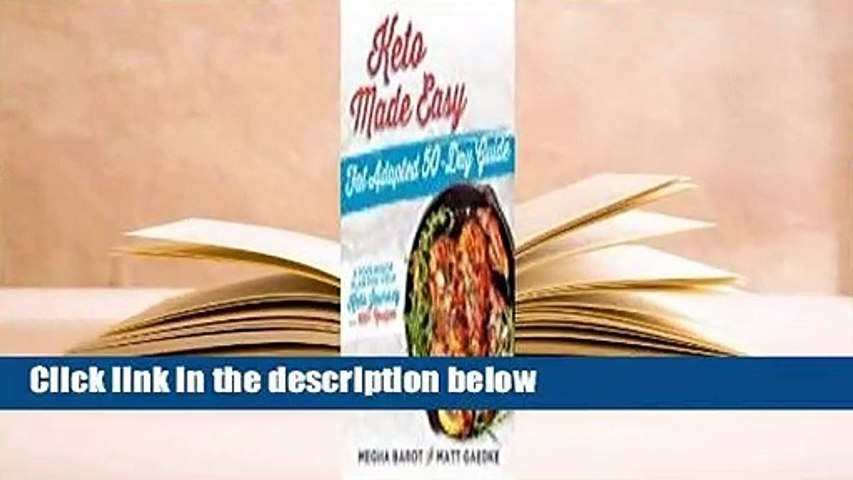 About For Books  Keto Made Easy: Fat Adapted 50 Day Guide  For Kindle