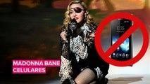 Madonna bane celulares em seu show