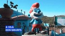 Conheça Júzcar, uma vila completamente azul