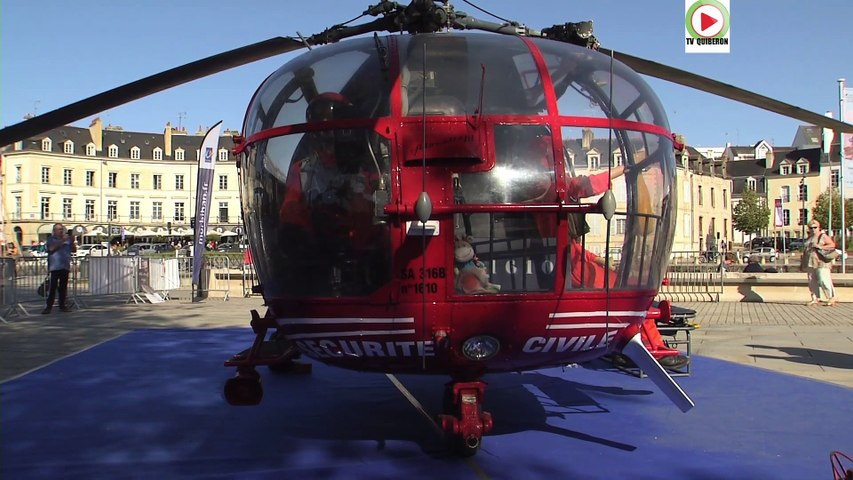 CongresSP2019:  L' Alouette III - Vannes Télé