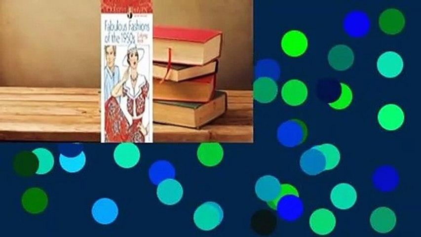 [Read] Adult Coloring Book Creative Haven Fabulous Fashions of the 1950s Coloring Book  For Full