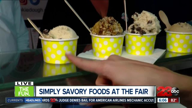 Edible cookie dough at the Kern County Fair