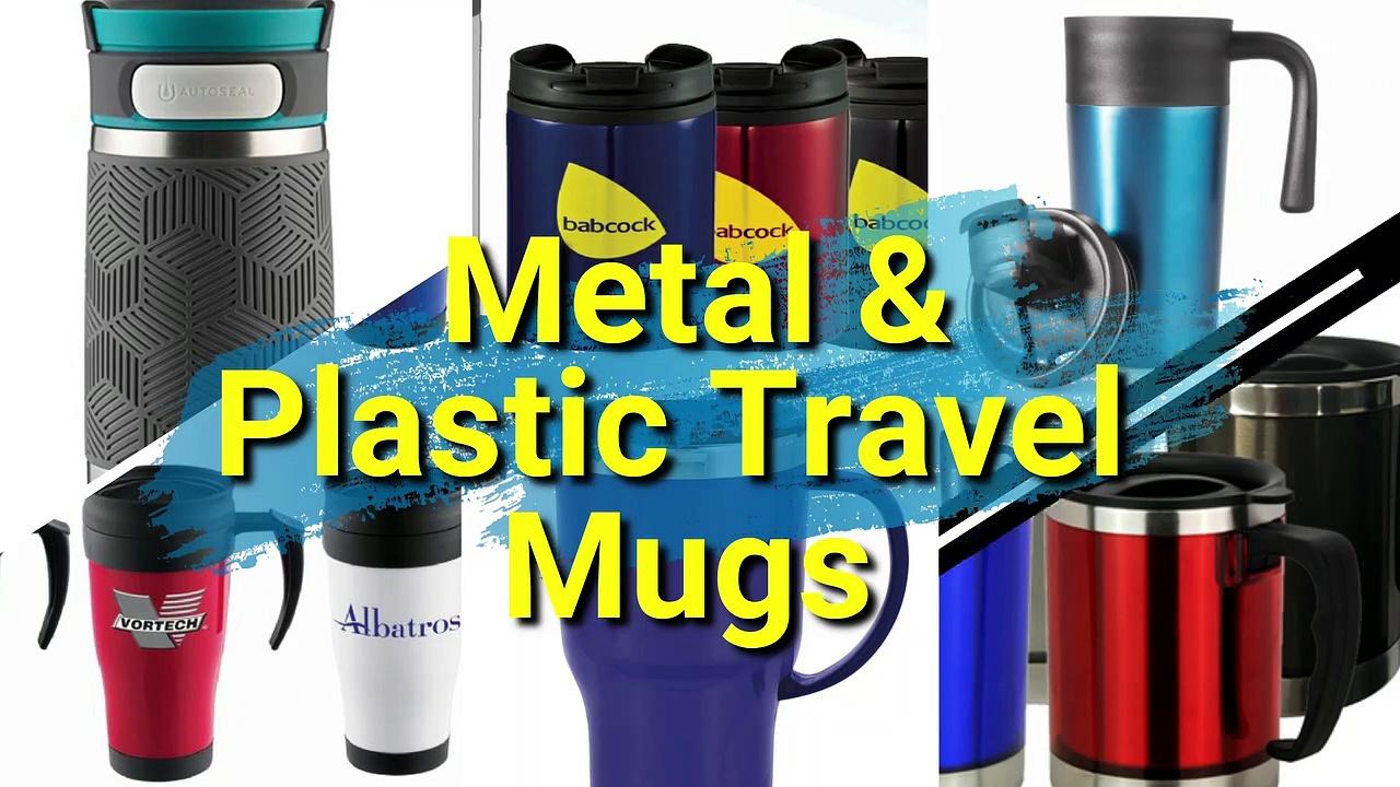 Printed Metal & Plastic Mugs | Watch Video by Vivid Promotions