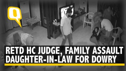 'They Beat Me Really Hard': Daughter-In-Law of Retired HC Judge