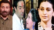 Sunny Deol & Karishma Kapoor face charges for their 22 years ago train chain pulling | FilmiBeat