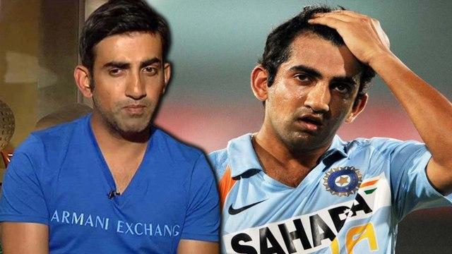 Gambhir rejected for world cups | 2 உலகக்கோப்பை வென்று கொடுத்த கம்பீருக்கு  நடந்த கொடுமை!