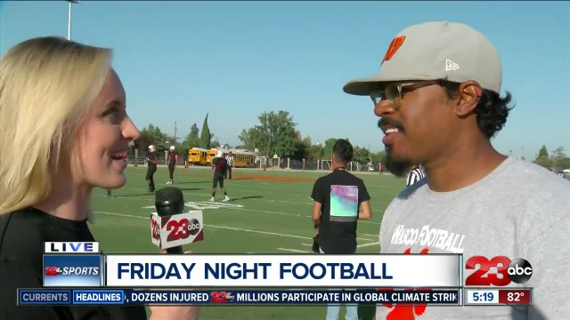 Live interview with Wasco Head Coach Chad Martinez from FNL Game of the Week
