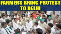 Farmers protest: Demand full loan waiver, payment of sugarcane dues etc |OneIndia News