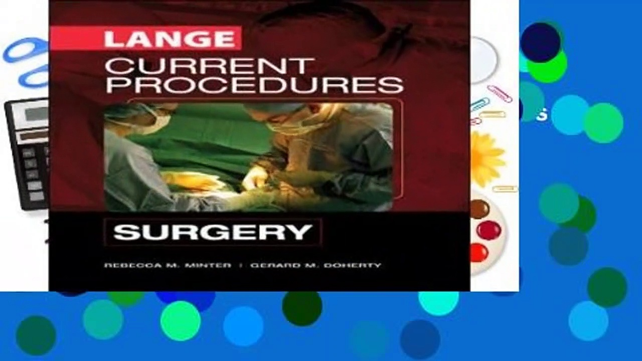 [READ] CURRENT Procedures Surgery (LANGE CURRENT Series)