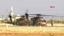 Suriye sınırından helikopter hareketliliği