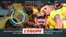 5 choses à retenir d'Australie-Fidji - Rugby - Mondial