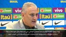 كرة قدم:دولي: نيمار سعيد لوجوده  ضمن المنتخب الوطني – تيتي