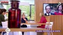 C à Vous : Valérie Trierweiler agacée par des questions sur François Hollande (Vidéo)