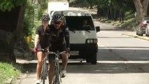Picasso, el loro ciclista que conquista el corazón de los venezolanos