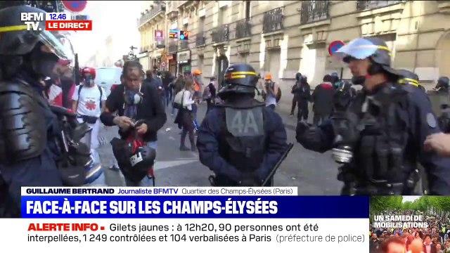Qui sont les gilets jaunes qui affrontent les forces de l'ordre aux abords des Champs-Élysées?