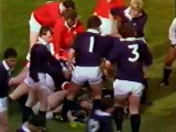 Rugby Union Five Nations 1987 - Scotland v Wales - Highlights