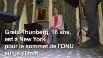 """Greta Thunberg à l'AFP: les dirigeants politiques """"doivent prendre leurs responsabilités"""""""