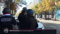 Manifestations : Paris sous surveillance