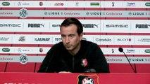 J6. Stade Rennais F.C. / Lille : conférence de presse