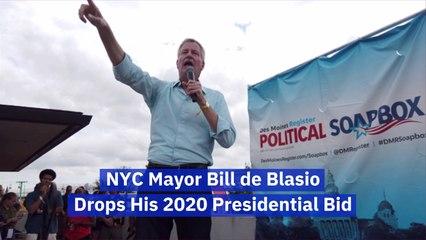Bill de Blasio Is Out Of The Race
