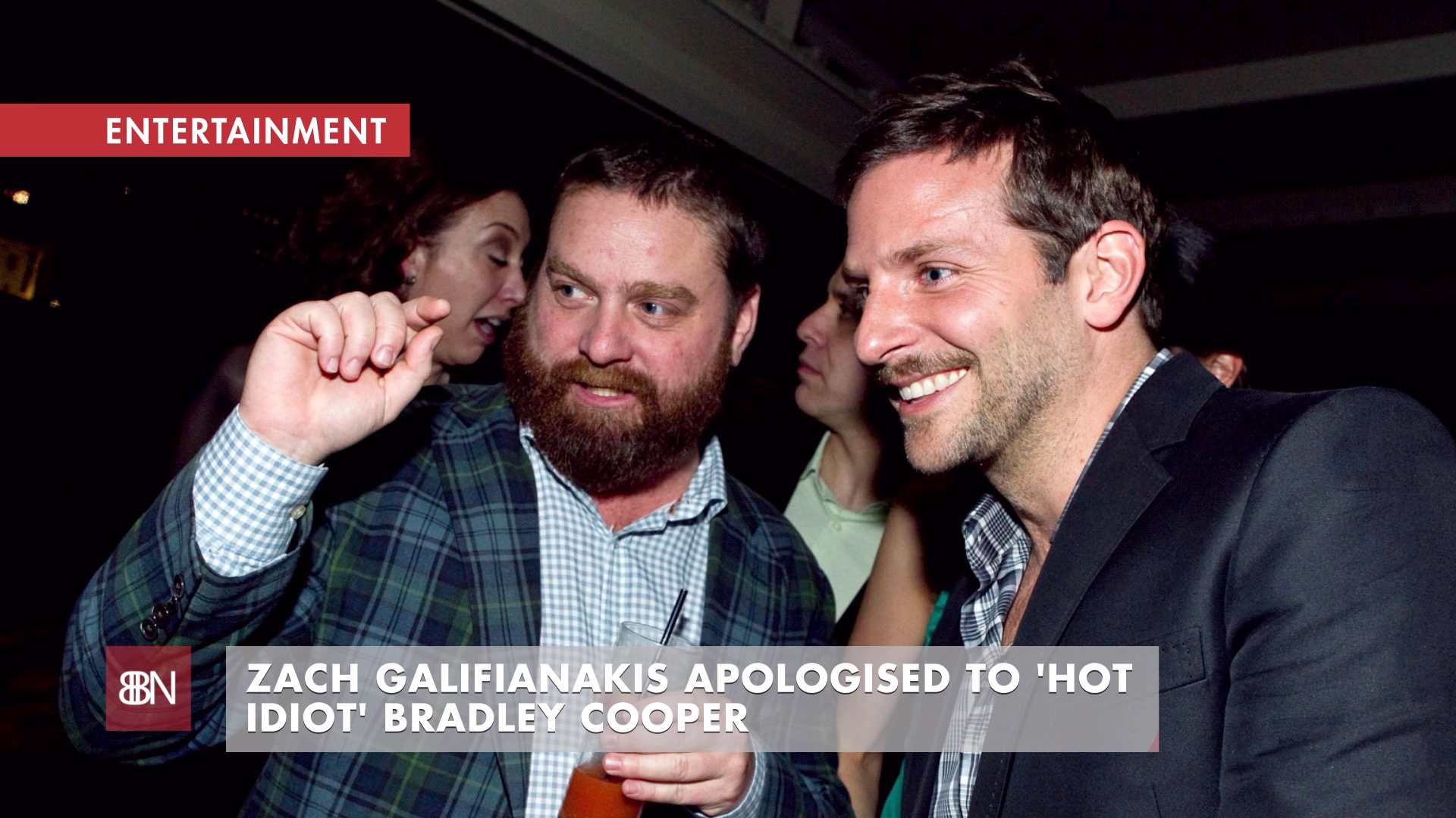 Zach Galifianakis Made A Comment About Bradley Cooper
