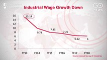 Wage Growth In Industrial Sector Lowest In The Last Five Years