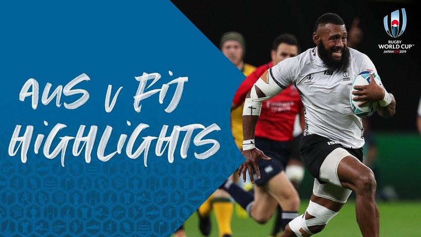 HIGHLIGHTS : Australia vs Fiji - Rugby World Cup 2019