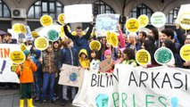 İklim grevi: İstanbul'dan iklim adaleti çağrısı yükseldi