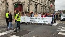 Manifestation pour la paix et le climat à Quimper