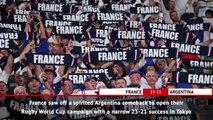 Fast Match Report - France v Argentina