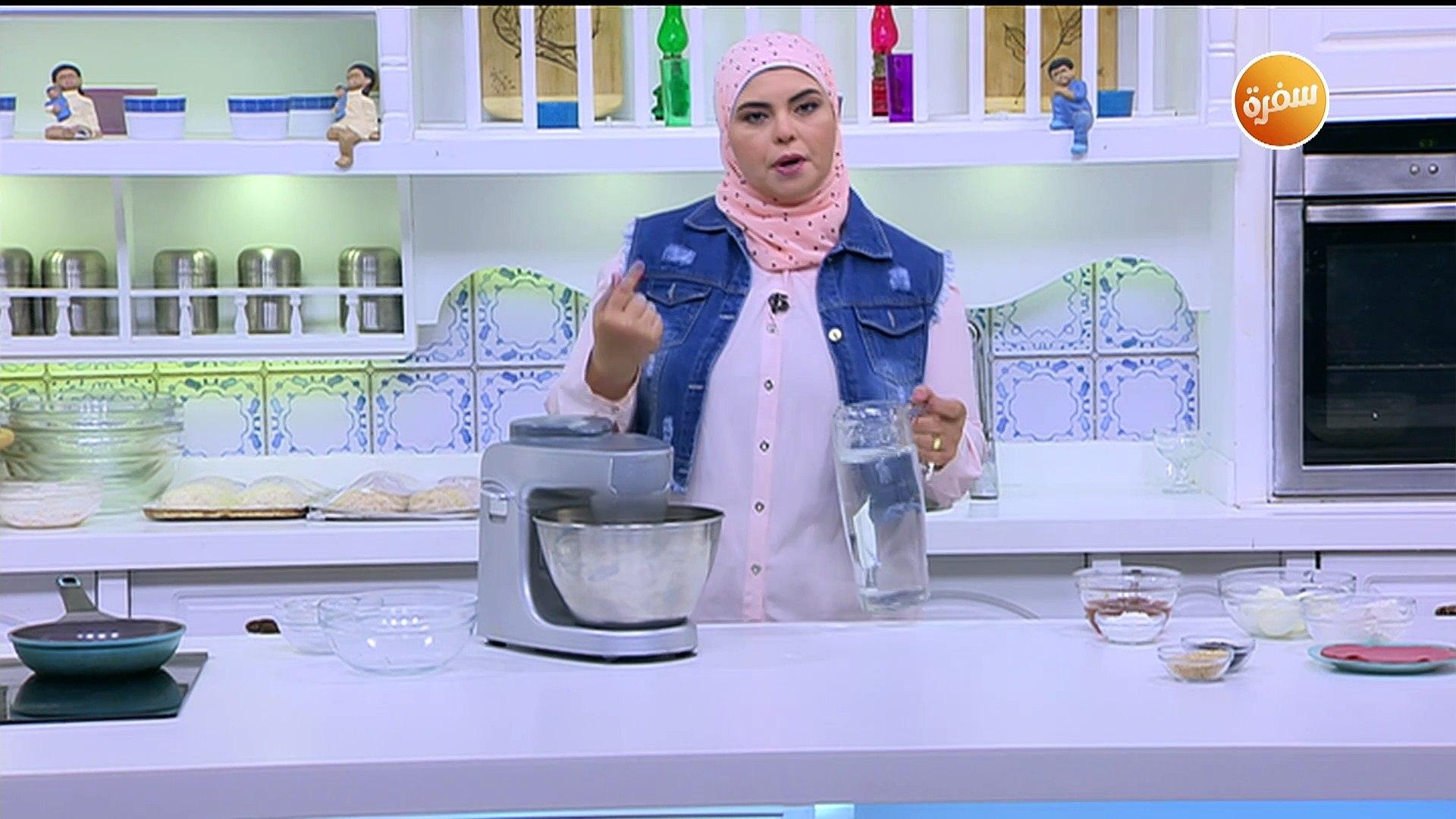 طريقة تحضير خبز بلدي محشي   نجلاء الشرشابي
