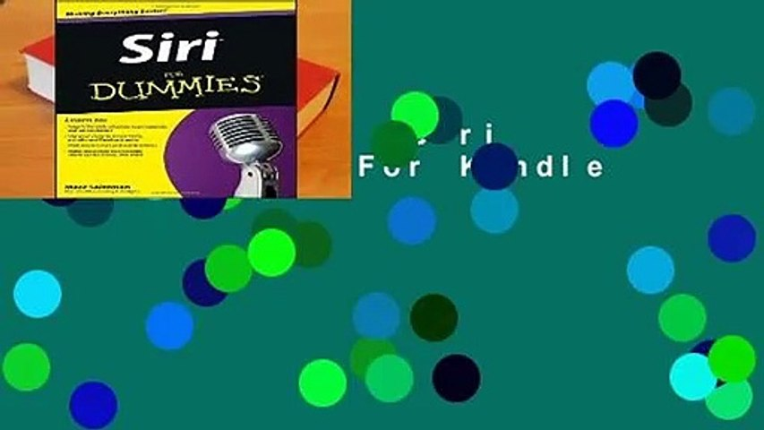 Full version  Siri For Dummies  For Kindle