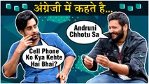 Ali Fazal And Satyajeet Dubey FUNNY English Vinglish Quiz | Prassthanam | EXCLUSIVE