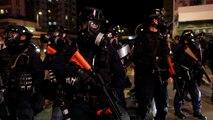 Jornada de violencia y nuevos arrestos en Hong Kong