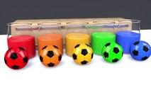 Learn Colors with Gorilla Soccer Ball Finger Family Song for Kid Children