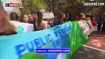 Marche pour le climat : des manifestations dans le monde entier - VIDEOFRE.com
