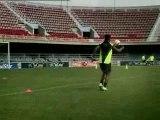 Ronaldinho - 4 Transversales Publicité Nike