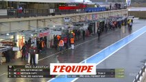 La course interrompue par la pluie - Moto - Bol d'Or