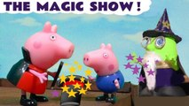 Peppa Pig Magic Show with Funny Funlings Wizard Funling in this Funny Videos Peppa Pig Full Episodes English Toy Story for Kids