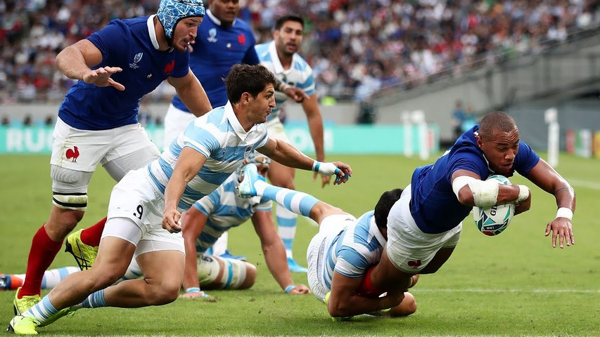 Rugby : Video - Coupe du monde 2019 :  France - Argentine, le re?sume?
