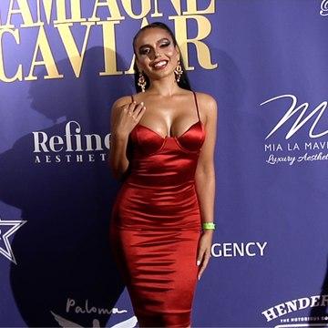 Juvahn VIctoria 2019 Golden Soiree Emmy Celebration Red Carpet
