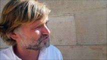 """Olivier Adam et """"Une partie de badminton"""" son nouveau livre à Livres dans la boucle"""