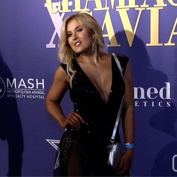 Jacey Marie 2019 Golden Soiree Emmy Celebration Red Carpet