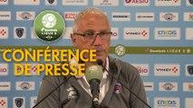 Conférence de presse Paris FC - Clermont Foot (0-2) : Mecha BAZDAREVIC (PFC) - Pascal GASTIEN (CF63) - 2019/2020