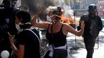 164 detenidos en París tras desembocar varias protestas en violentos incidentes