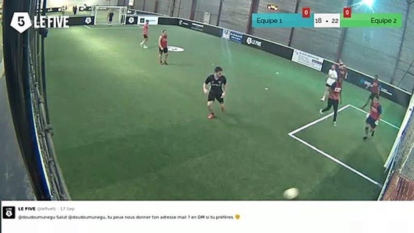 But de Equipe 1 (19-22)