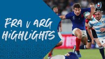 HIGHLIGHTS : France vs Argentina - Rugby World Cup 2019